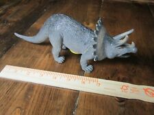 Large scale Triceratops dinosaur model