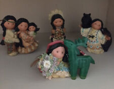 Lot of 4 Enesco Friends of the Feather Figurines Used Condition