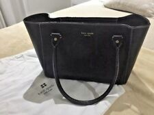 Genuine Kate Spade Black Leather Small Tote Bag
