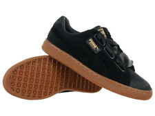 Women's Puma Basket Heart VS Shoes Black Everyday Trainers