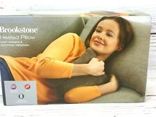 Brookstone,  Nap Heated massage pillow, cozy warmth and sooting  vibration
