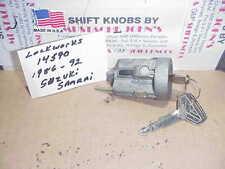 1986 - 92  Suzuki Samurai,  Ignition lock cyl. & keys