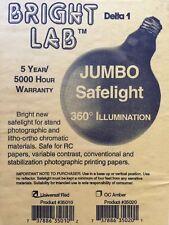 Bright Lab RED Jumbo Safelight Bulb, 25 Watt, Light Red (1A) Filtered #35010