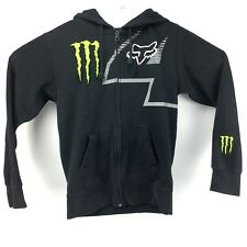 Fox Racing Monster Energy Collaboration Jacket Hoodie Ricky Carmichael 4 Size S