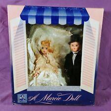 db Vintage Marcie Doll Blonde Bride & Groom Crochet Clothes