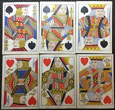 c1865 Squared Antique Poker Playing Cards Gamblers English Saloon 52/52 Deck