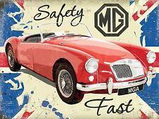 Large MGA Safety Fast sign