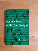 Sigmund Freud - Métapsychologie - Idées nrf (1968)