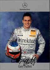Mercedes DTM Motorsport Autogrammkarte GARY PAFFETT 2004 Auto Rennen Tourenwagen