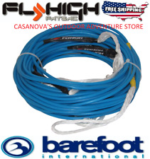 FLY HIGH BAREFOOT INTERNATIONAL 95' SPECTRA CORE SKI WAKEBOARD LINE/ROPE M1000!