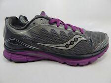 Saucony Kinvara 3 Size US 8 M (B) EU 39 Women's Running Shoes Gray 10157-5