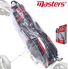 Masters Waterproof Clear Golf Trolley Bag Rain Cover Cape Zip Cover