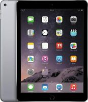 Apple iPad Air 2, WiFi & 4G Cellular Unlocked - 16GB 32GB 64GB  - Gray Silver
