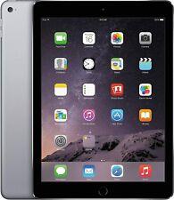 Apple iPad Air 2, WiFi & 4G Cellular Unlocked - 16GB 32GB 64GB  - Gray Silver