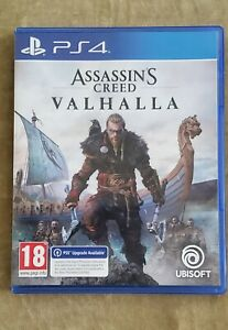 Assassin's Creed Valhalla (Playstation 4, 2020) PS4 MINT