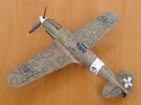 1:300 Scale Italian Fighter Macchi MC.202 DIY Handcraft PAPER MODEL KIT