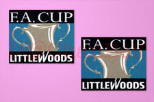 FA Cup LITTLEWOODS 1995-1998  Sleeve Soccer Patch / Badge