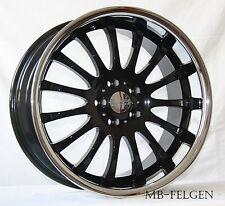 Rimstock Equinox black Alufelgen Tiefbett 8,5/9,5x19 ET35 5er F10 F11 F07 560X