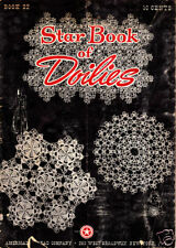 Craft Books: #925 Star Book of Doilies Book 22 Crochet