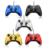 USB Wired Game Pad Remote Controller for Microsoft XBox 360 Console PC Windows