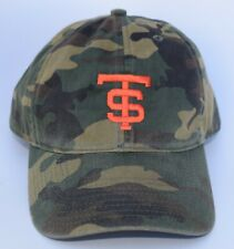 cheap for discount 68d1e a877c TS ST Logo Camo Baseball Cap Hat One Size Strapback 6-Panel by Legacy