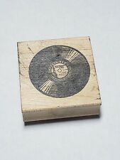 Vintage Emerson Record Rubber Stamp Alice In Rubberland