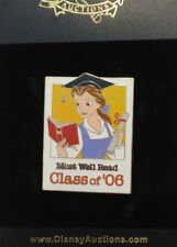 DISNEY AUCTIONS GRADUATION CLASS OF 2006 BELLE BEAUTY & THE BEAST LE 100 PIN