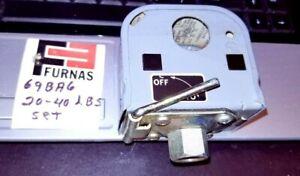 FURNAS 69BA6 Pressure Switch 20-40 psi LBS SET nos