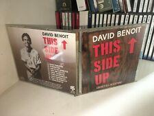 DAVID BENOIT THIS SIDE UP CD 1987 NO BARCODE OTTIME CONDIZIONI FUORI CATALOGO