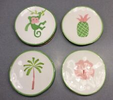 Mariposa Palm Beach Boxed Canape Hand Crafted Plates