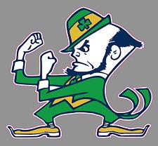 "University of Notre Dame Fighting Irish 6"" Premium Vinyl Decal Bumper Sticker"