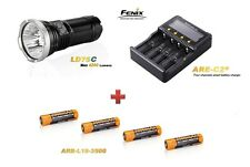 Fenix LD75 C + 4 Fenix ARB-L2S Akku´s + Fenix ARE-C2 Ladegerät Neu OVP