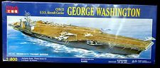 Kitech 1/800 USS George Washington Aircraft Carrier Model Kit Hurricane Matthew