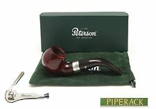 NEW Peterson Pipe Harp 03 Fishtail Sterling Silver Mounted