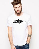 Zildjian T-shirt Logo Cymbal X Avedis Sabian Printed Graphic Tee Top T Unisex