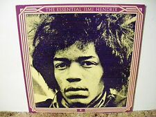 JIMI HENDRIX , THE ESSENTIAL, RARE 1978 , ELECTRIC SUPER ROCK, 2 LP SET