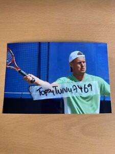 LLEYTON HEWITT TENNIS PHOTO 6 X 4 INCH WIMBLEDON