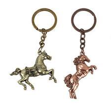 Cute Vintage Creative Animal Men Horses Key Chain Ring Keyring Metal Keychain