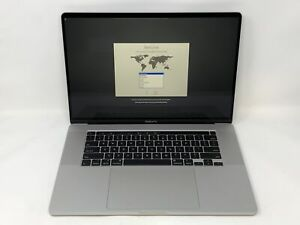 MacBook Pro 16 Silver 2019 2.6GHz i7 16GB 512GB SSD Very Good Condition