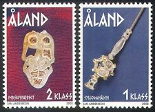 Aland 2002 Iron Age/Jewellery/History/Heritage/Precious Metals/Art 2v set n41534
