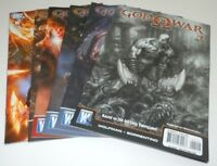 God of War 1 2 3 4 5 6 Comic LOT DC Wildstorm 1st 2nd Print COMPLETE SET Full