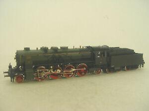 K.P.E.V.Dampflok  P10  Fleischmann HO Lok 3-Leiter Gleichstrom Umbau 4890  gebr.