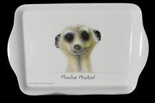 Australian Souvenir Ashdene Australia Scatter Tray Meerkat Mischief Face