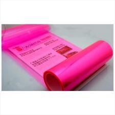 "12"" x 48"" Car Tint Headlight Taillight Fog Light Vinyl Smoke Film Sheet Pink"