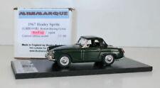 MINIMARQUE 1/43 GRB101B - 1967 AUSTIN HEALEY SPRITE BR GREEN - ROOF UP
