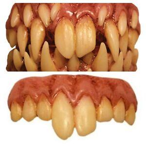 Pennywise Fang False Teeth Evil IT Clown Halloween Trick Or Treat Studios Horror