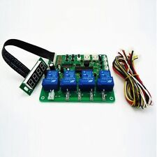 JY-21 4 digits minte:second coin operated timer board for 1-4 devices machines