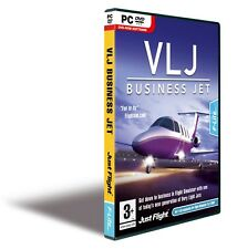 JUST FLIGHT VLJ BUSINESS JET FOR MS FS EXP PACK X/2004  X F-Lite Fun to Fly