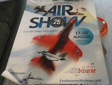 RED ARROWS AIRBOURNE BUS SHELTER POSTER EASTBOURNE RAF 2017 25TH ANNIVERSARY