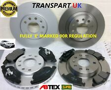 SAAB 9-3 93 AERO TTID 303MM FRONT AND 293MM VENTED REAR BRAKE DISCS AND PADS SET